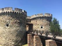 堡垒在贝尔格莱德 免版税库存照片