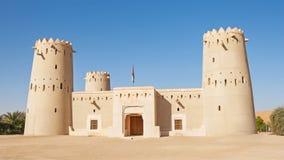堡垒在阿拉伯联合酋长国的Liwa新月形地区 免版税库存照片