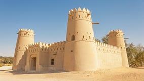 堡垒在阿拉伯联合酋长国的Liwa新月形地区 免版税图库摄影