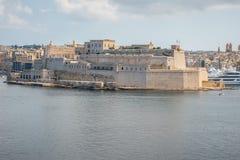 堡垒在马耳他 免版税库存照片