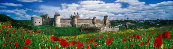 堡垒在Kamenetz波多利斯克 图库摄影