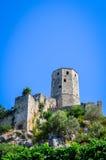 堡垒在Pocitelj -波黑 图库摄影