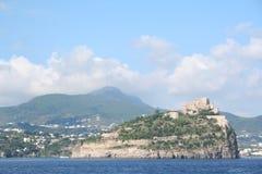 堡垒坐骨海岛意大利 库存照片