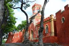 堡垒基督徒,夏洛特Amalie,圣托马斯 库存照片