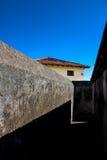 堡垒墙壁在巴拉科阿 库存图片