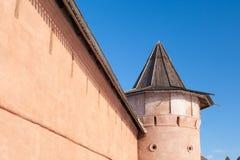 堡垒墙壁 图库摄影
