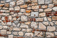 堡垒墙壁5 库存照片