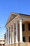 堡垒大厅干草picken州立大学 免版税库存照片