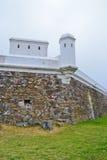 堡垒小山蒙得维的亚 库存图片
