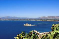 堡垒小岛石头 图库摄影