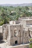 从堡垒尼兹瓦的看法 库存图片