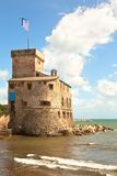 堡垒意大利rapallo 图库摄影
