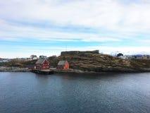 堡垒挪威 库存图片