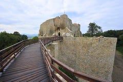 堡垒摩尔达维亚neamt罗马尼亚 图库摄影