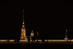 堡垒晚上保罗・彼得 图库摄影