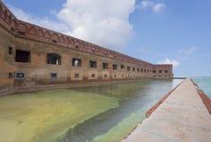 堡垒杰斐逊门面,干燥Tortugas 库存图片