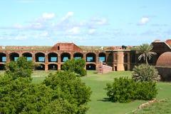 堡垒杰斐逊,干燥Tortugas,佛罗里达 库存照片