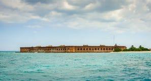 堡垒杰斐逊- Tortugas,佛罗里达 免版税图库摄影