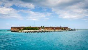 堡垒杰斐逊- Tortugas,佛罗里达 图库摄影