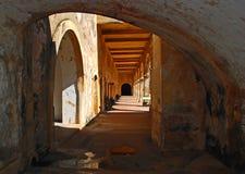 堡垒波多里哥西班牙语 库存图片