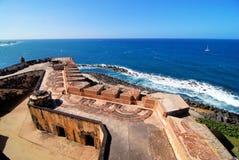 堡垒波浪 库存照片