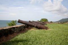 堡垒洪都拉斯trujillo 免版税库存照片
