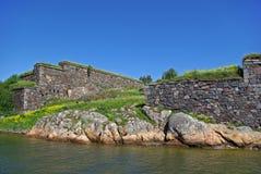 堡垒海运suomenlinna瑞典 库存照片