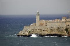 堡垒灯塔 免版税库存照片