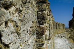 堡垒的墙壁 图库摄影