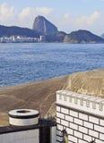 堡垒科帕卡巴纳在里约 免版税库存图片