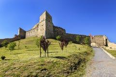 堡垒罗马尼亚rupea 免版税库存图片