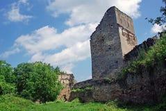 堡垒老塔 免版税库存图片