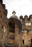 堡垒耶稣・肯尼亚蒙巴萨废墟 免版税库存照片