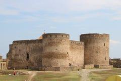 堡垒被加强的区域 库存图片