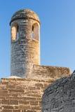 堡垒钟楼 图库摄影