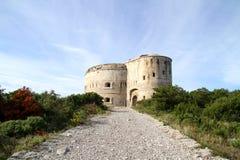 堡垒阿扎镇黑山 免版税库存照片