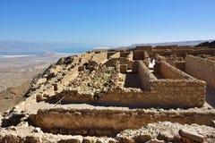 堡垒马萨达,以色列 图库摄影