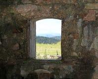 堡垒索姆莫第一次世界大战窗口  库存照片