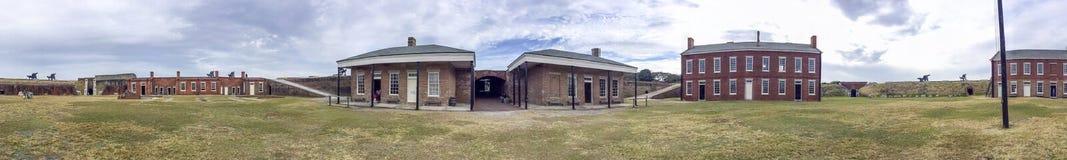 堡垒紧抱国家公园,佛罗里达-美国 免版税库存图片