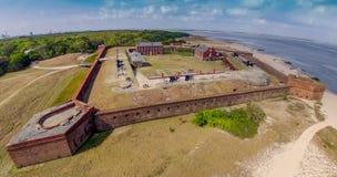 堡垒紧抱 免版税库存照片