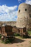 堡垒 Izborsk 俄国 库存照片