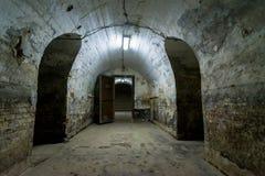堡垒13 Jilava监狱,罗马尼亚内部  库存照片