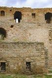 堡垒Akkerman墙壁在乌克兰 免版税库存照片