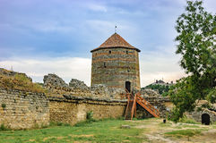 堡垒Akkerman, Bilhorod-Dnistrovskyi,乌克兰 库存图片