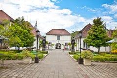 堡垒Benteng Vredeburg博物馆在日惹, Java。 库存照片