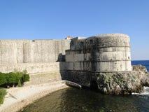 堡垒Bokar,杜布罗夫尼克,克罗地亚 库存图片