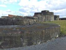堡垒Breendonk (比利时) 库存图片