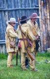 堡垒Bridger集合点2014年 免版税库存照片