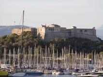 堡垒Carré,安地比斯,法国 图库摄影