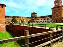 堡垒Castello 库存照片